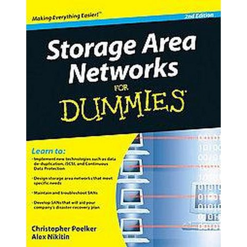 Storage Area Networks For Dummies ( For Dummies Series) (Paperback)