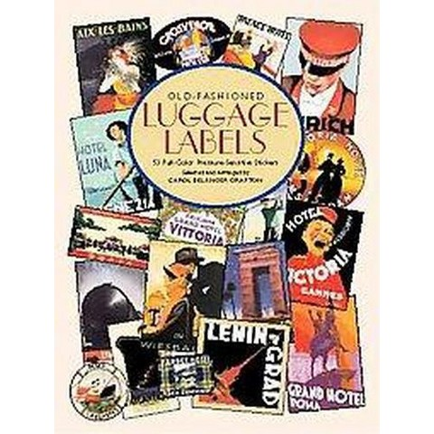 Old-Fashioned Luggage Labels (Paperback)