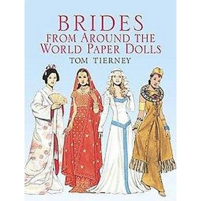 Brides from Around the World Paper Dolls (Paperback)