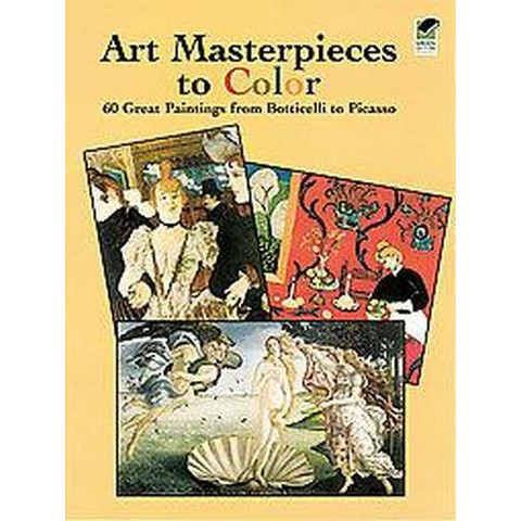 Art Masterpieces to Color (Paperback)
