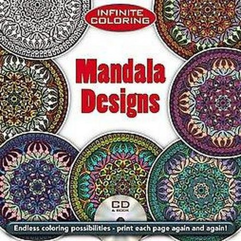 Infinite Coloring Mandala Designs (Mixed media product)