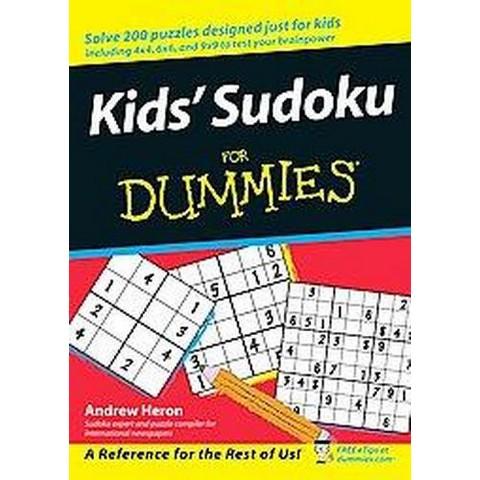 Kids' Sudoku For Dummies ( For Dummies Series) (Paperback)