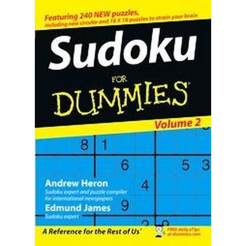 Sudoku for Dummies (2) (Paperback)