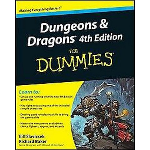 Dungeons & Dragons For Dummies ( For Dummies Series) (Paperback)