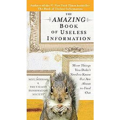 The Amazing Book of Useless Information (Paperback)