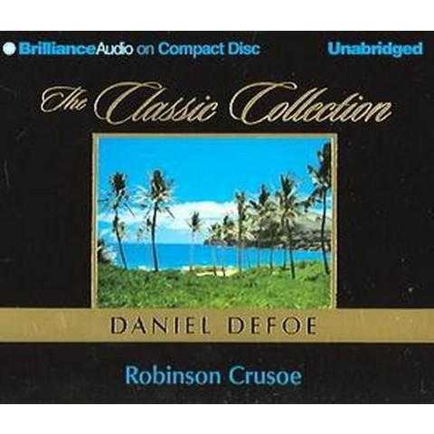 Robinson Crusoe (Unabridged) (Compact Disc)