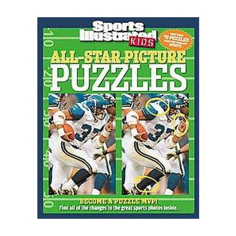 All-Star Picture Puzzles (Paperback)