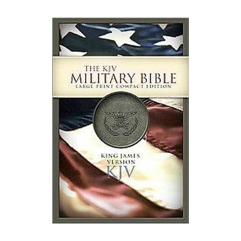Military Bible (Large Print, Compact) (Paperback)