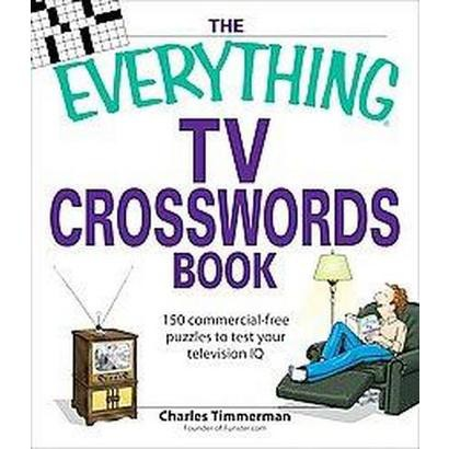 The Everything TV Crosswords Book (Paperback)
