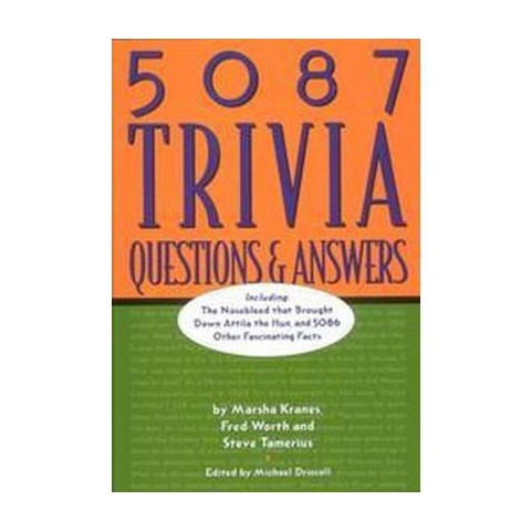 5087 Trivia Questions & Answers (Hardcover)