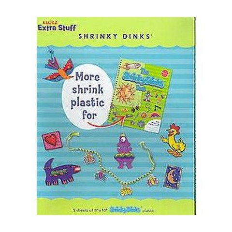 Extra Stuff Shrinky Dinks (Paperback)