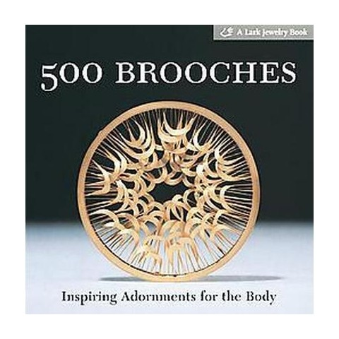 500 Brooches (Paperback)