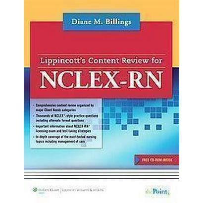 Lippincott's Content Review for NCLEX-RN (Mixed media product)