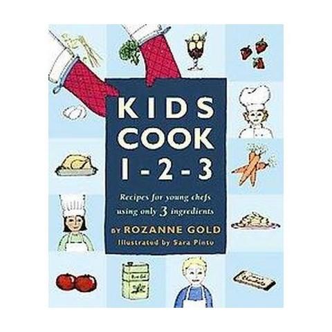 Kids Cook 1-2-3 (Hardcover)
