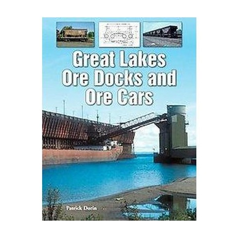 Great Lakes Ore Docks and Ore Cars (Paperback)