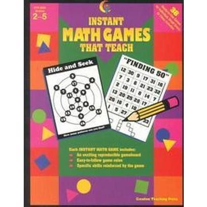 Instant Math Games That Teach (Workbook) (Paperback)