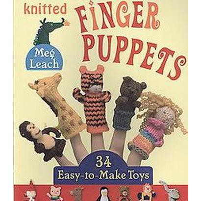 Knitted Finger Puppets (Paperback)