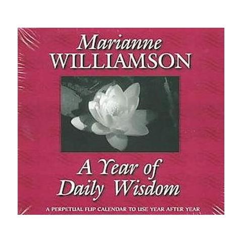 A Year of Daily Wisdom Perpetual Flip Calendar (Paperback)