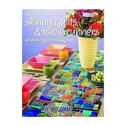 Skinny Quilts And Table Runners (Paperback)