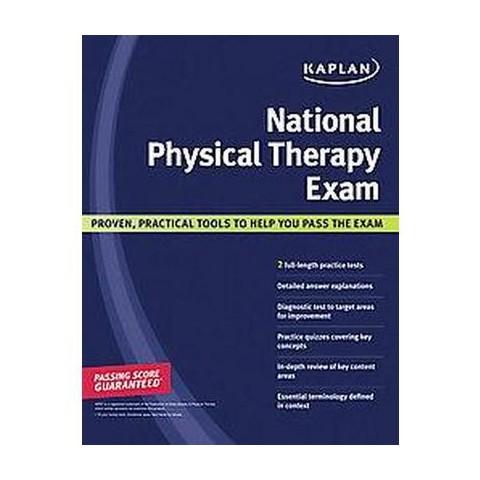 Kaplan National Physical Therapy Exam (Paperback)
