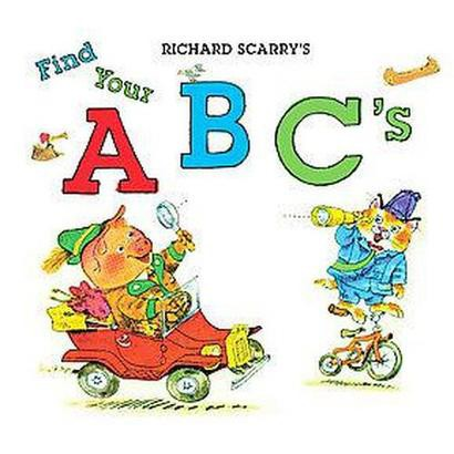 Richard Scarry's Find Your ABC's (Hardcover)