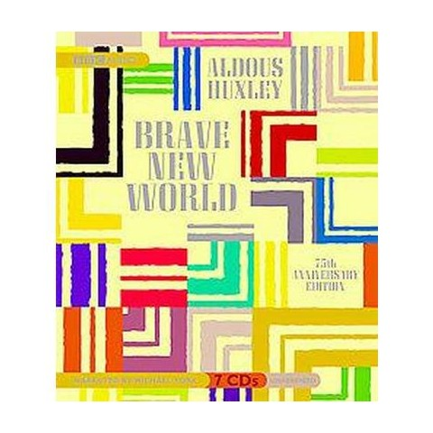 Brave New World (Unabridged / Anniversary) (Compact Disc)
