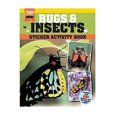 Bugs & Insects Sticker Activity Book (Paperback)