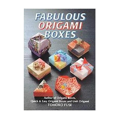 Fabulous Origami Boxes (Paperback)