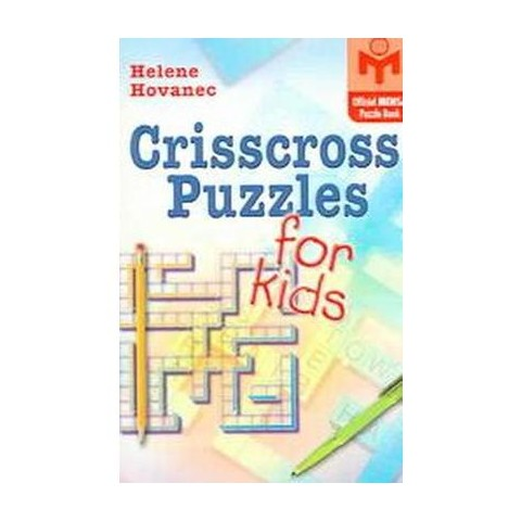 Crisscross Puzzles For Kids (Paperback)