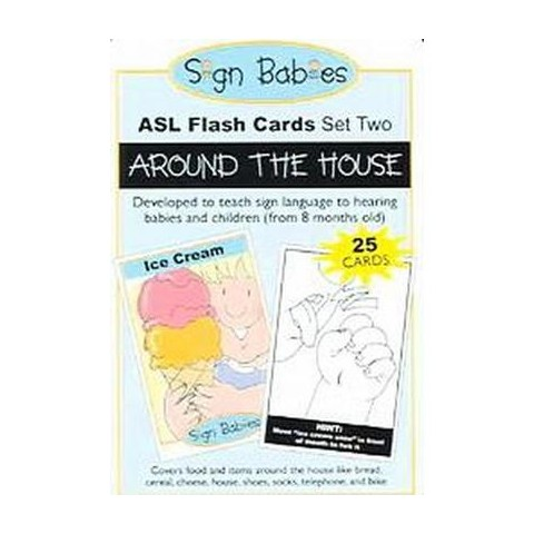 Sign Babies ASL Flash Card-Set 2 (Cards)