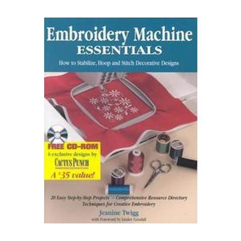 Embroidery Machine Essentials (Mixed media product)