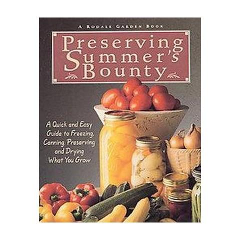 Preserving Summer's Bounty (Paperback)
