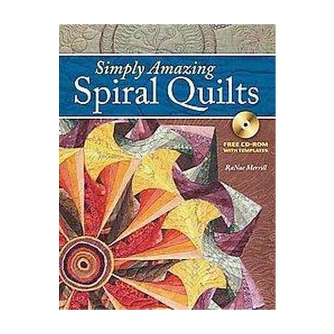 Simply Amazing Spiral Quilts (Mixed media product)