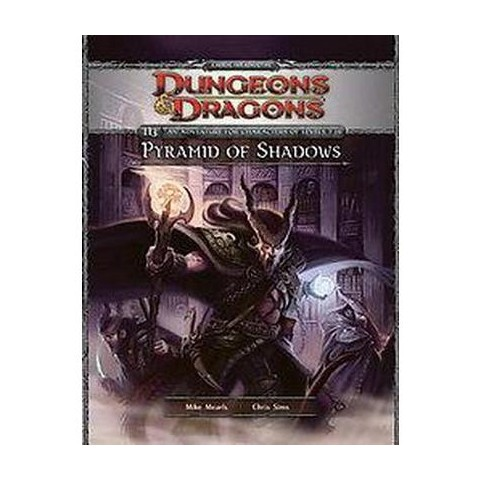 Dungeons & Dragons Pyramid of Shadows (Hardcover)