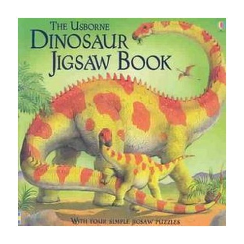 The Usborne Dinosaur Jigsaw Book (Board)