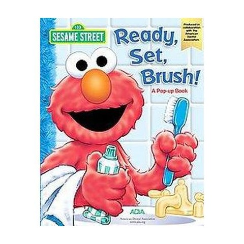 Ready, Set, Brush ( Sesame Street) (Board)