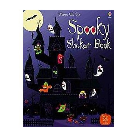 Spooky Sticker Book (Paperback)