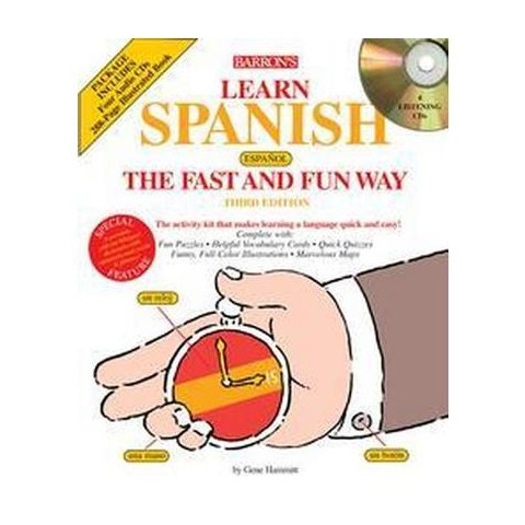 Barron's Learn Spanish, Espanol' the Fast and Fun Way (Compact Disc)
