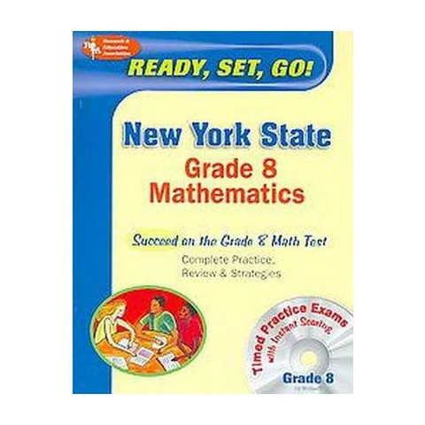 Ready, Set, Go! New York State Grade 8 Math Test (Mixed media product)