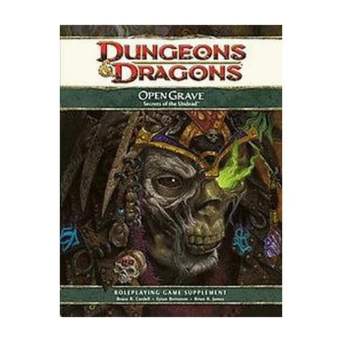 Dungeons & Dragons Open Grave (Hardcover)