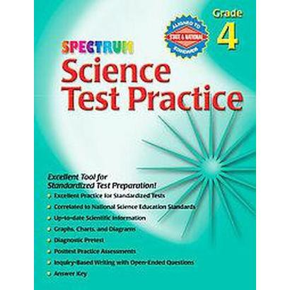 Spectrum Science Test Practice (Paperback)