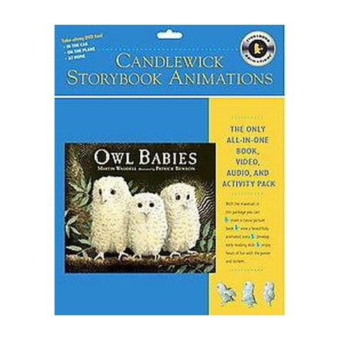 Owl Babies ( Candlewick Storybook Animation) (Reprint) (Mixed media product)