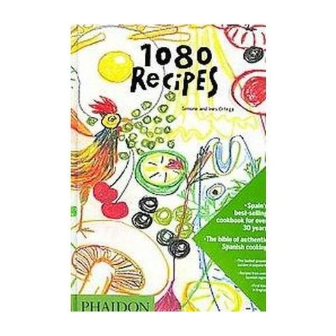 1080 Recipes (Hardcover)