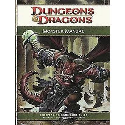 Monster Manual (Hardcover)