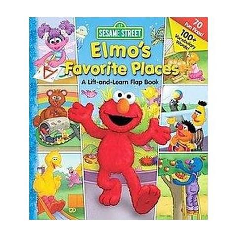 Elmo's Favorite Places (Board)