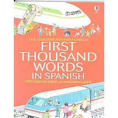 First Thousand Words In spanish (Paperback)