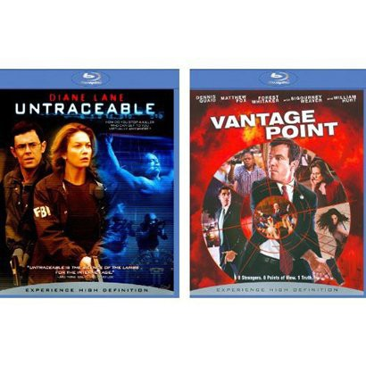 Untraceable/Vantage Point Blu-Ray - 2 Pack