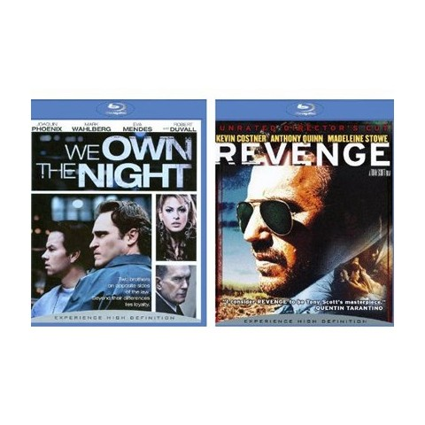 Revenge (Director's Cut)/We Own the Night Blu-Ray - 2 Pack
