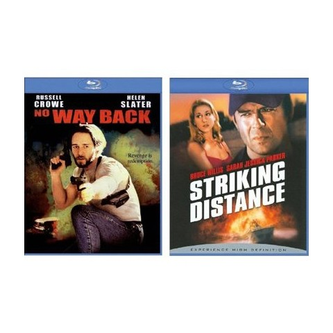 Striking Distance/No Way Back Blu-Ray - 2 Pack