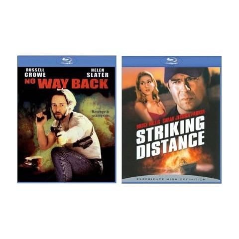 Striking Distance/No Way Back Blu-Ray - 2 Pack